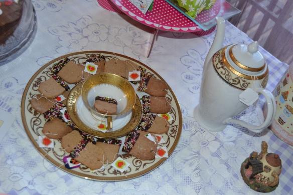 6 galletas bolsita de té