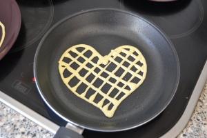 corazón cuadricula