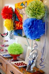 mesa dulces carnaval