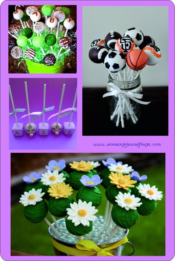 cakepops babyshower variados