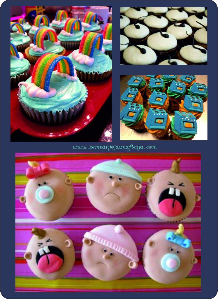 cupcakes babyshower originales