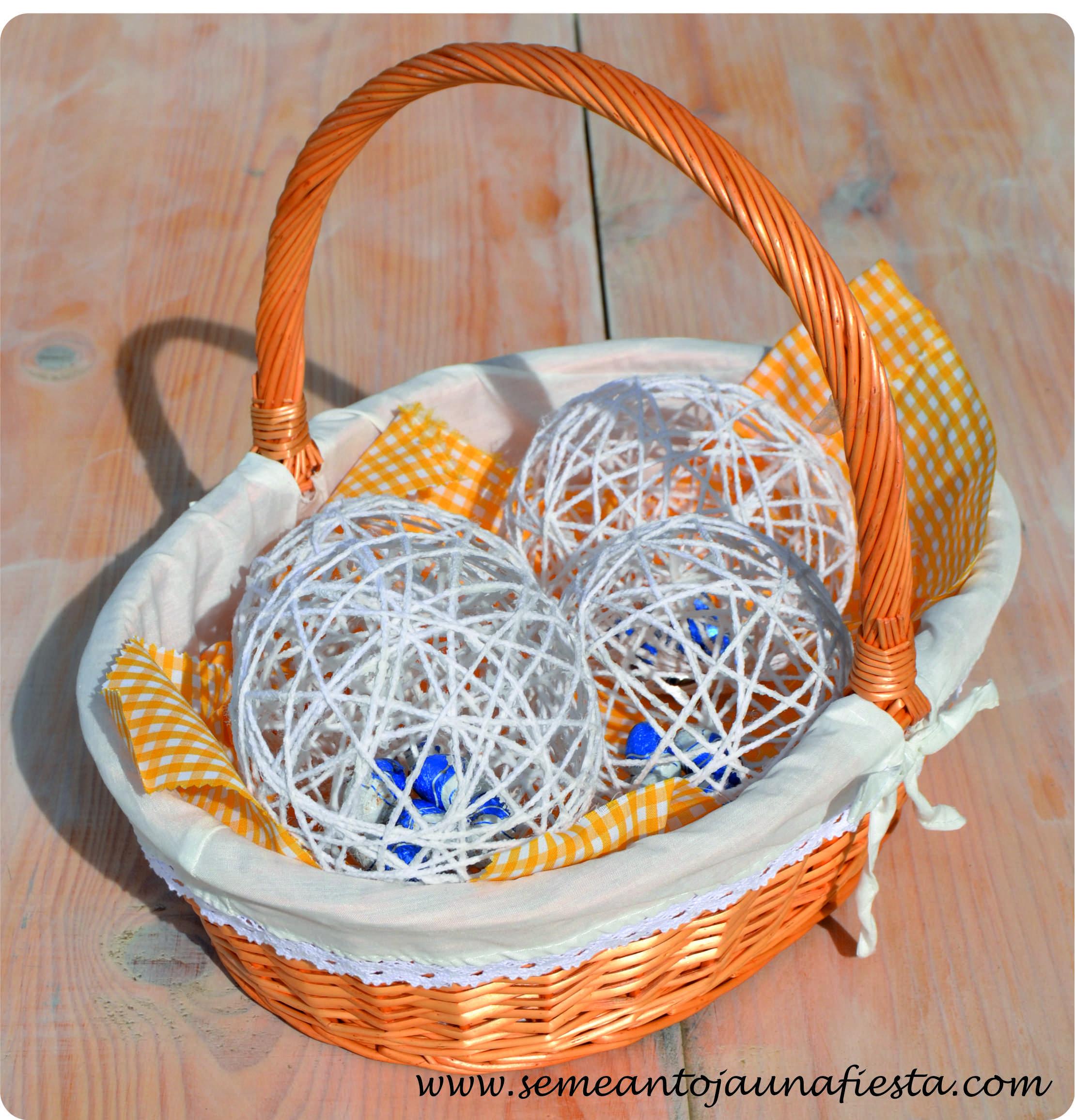 Se Me Antoja… hacer manualidades con Huevos de Pascua ...