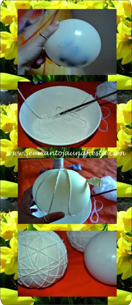 huevos de pascua - manualidades - paso 2