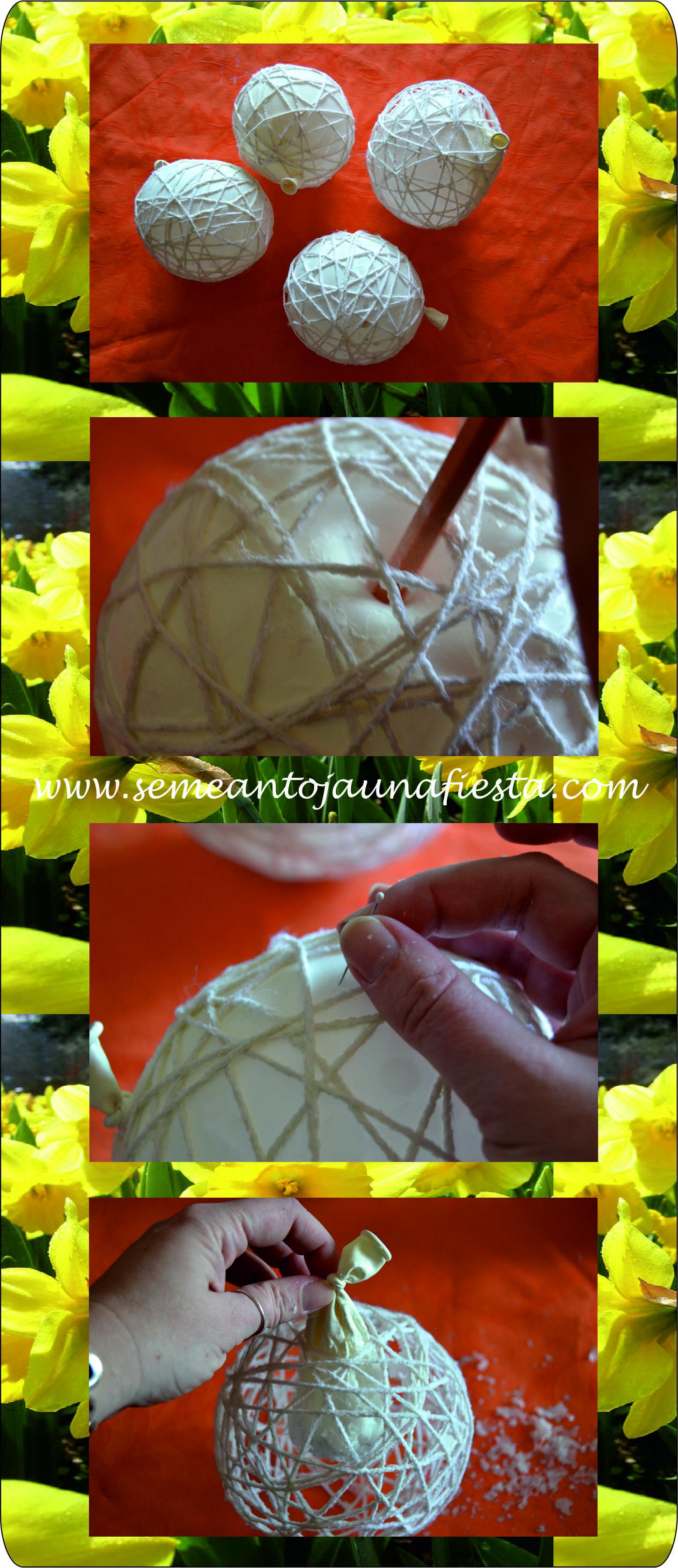 Se me antoja hacer manualidades con huevos de pascua - Como hacer manualidades con lana ...