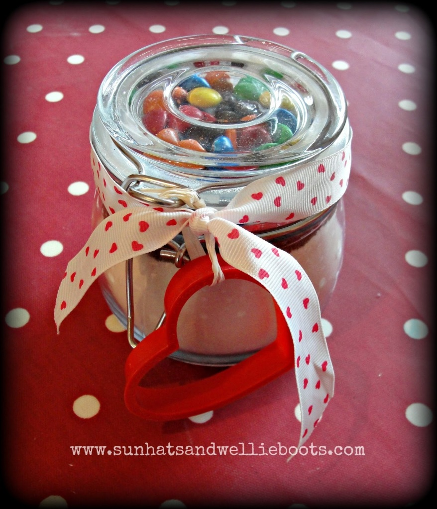 jar with cookie cutter