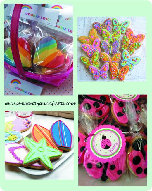 regalo invitados galletas decoradas - fiestas tematicas