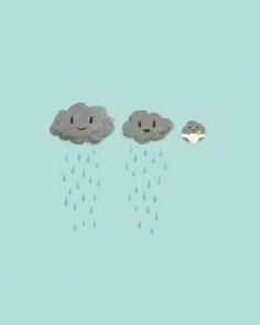 anunciar embarazo - nubes