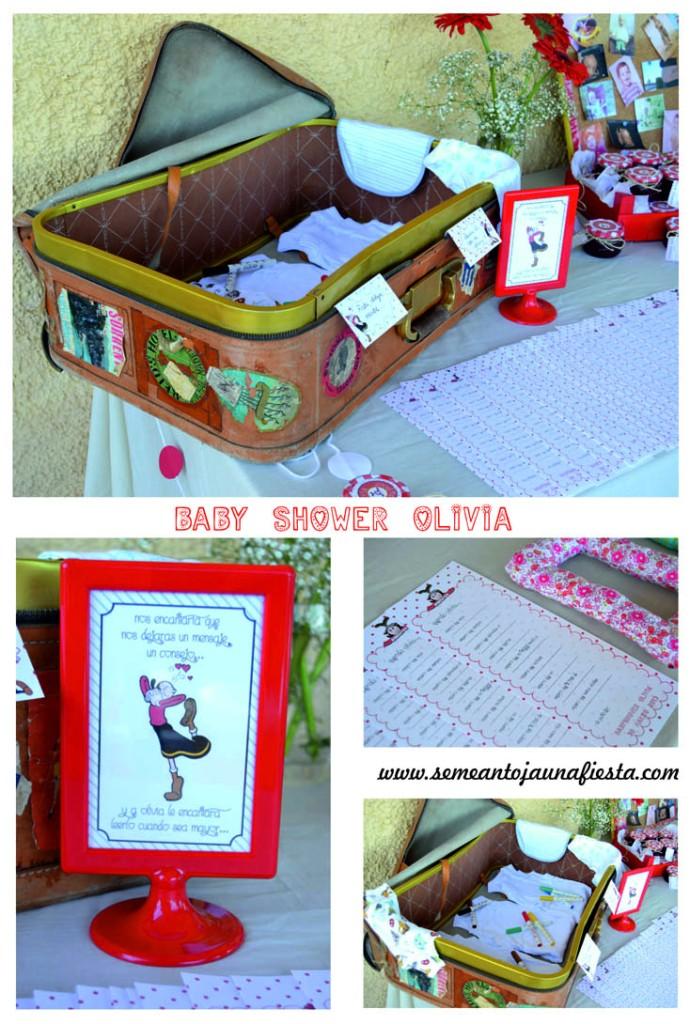 babyshower Olivia - entretenimiento invitados