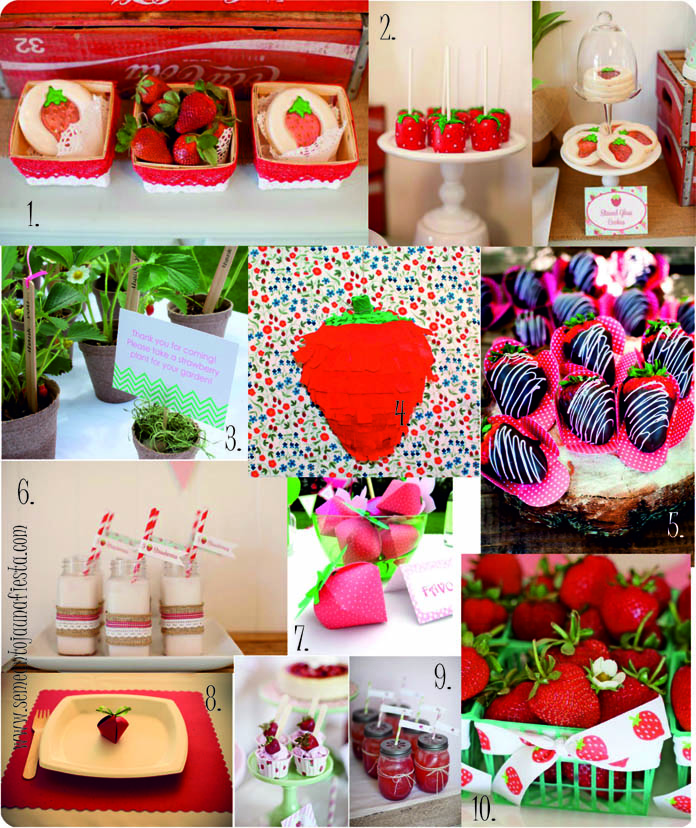 ideas babyshower fresas_