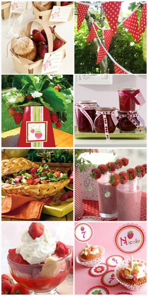 ideas fiesta fresas