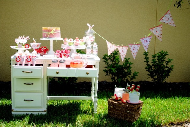 picnic fresas