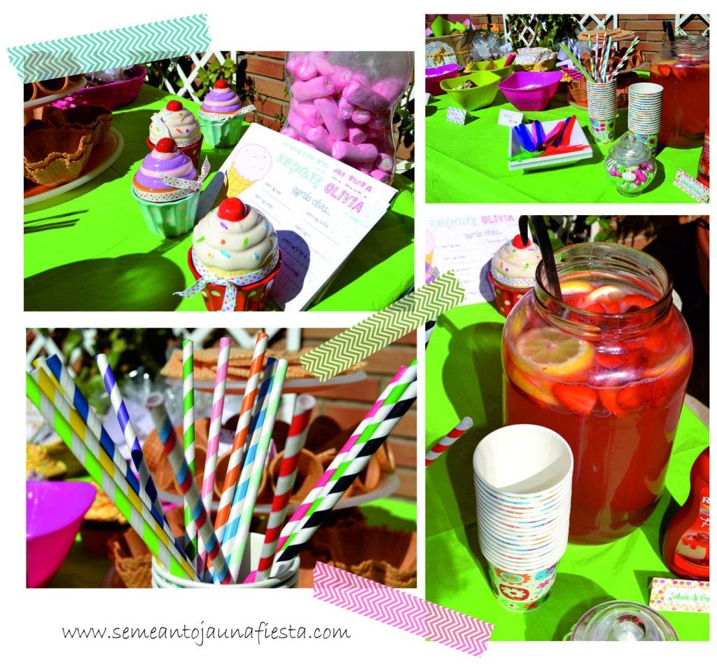 babyshower helados - detalles fiesta