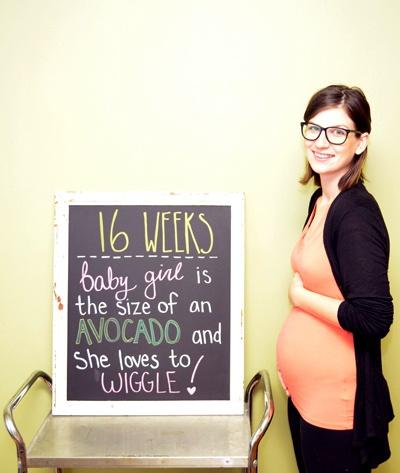 foto embarazo pizarra 1