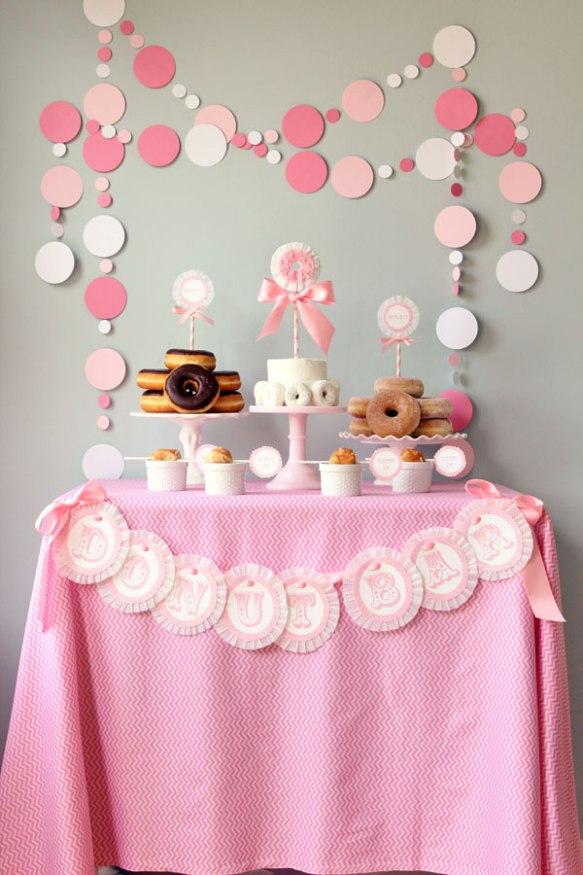 mesa donuts rosa