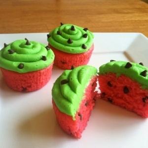 sandia - cupcakes