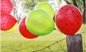 sandia - globos