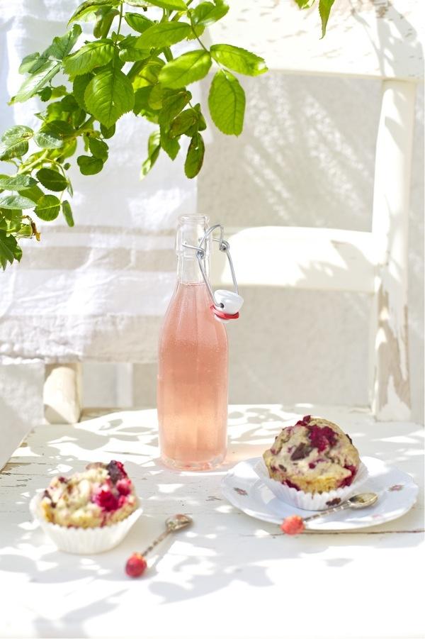 Fiesta pink lemonade - limonada rosa - botella