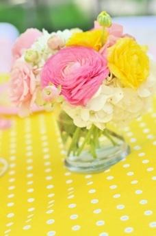 Fiesta pink lemonade - limonada rosa - flores