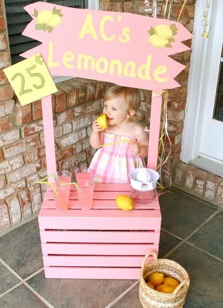 Fiesta pink lemonade - limonada rosa - puesto limonada