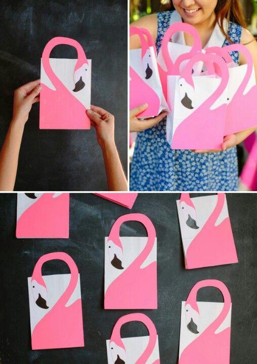 fiesta flamenco rosa - bolsitas