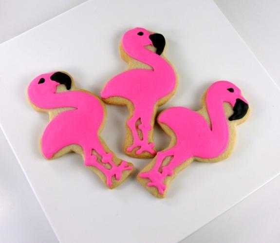 fiesta flamenco rosa - galletas