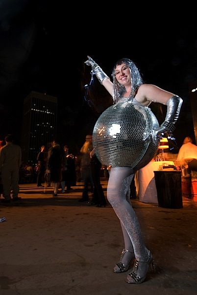 disfraz bola de discoteca