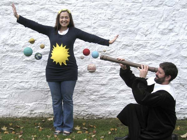 disfraz sistema solar