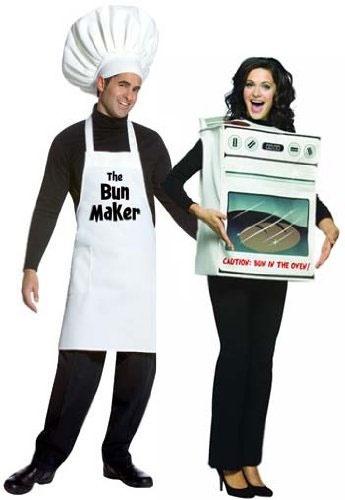 disfraz tengo un pastel en el horno